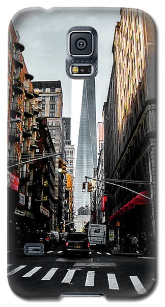 Galaxy S5 Case featuring the photograph Lower Manhattan One Wtc by Nicklas Gustafsson
