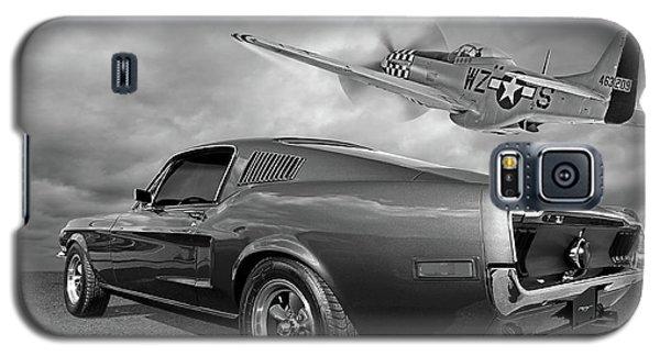 p51 With Bullitt Mustang Galaxy S5 Case