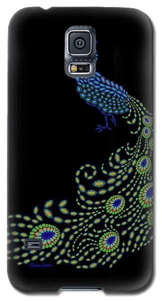 Jeweled Peacock Galaxy S5 Case