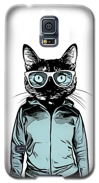 Cool Cat Galaxy S5 Case
