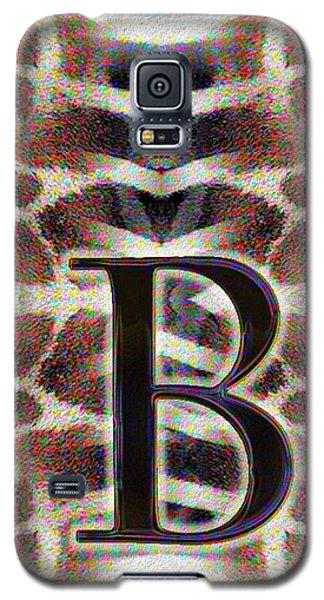 Monogram B Galaxy S5 Case
