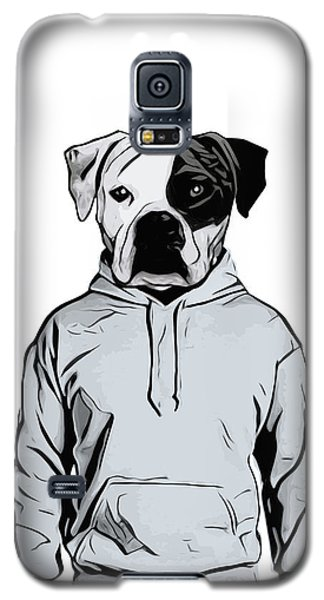 Galaxy S5 Case featuring the painting Cool Dog by Nicklas Gustafsson