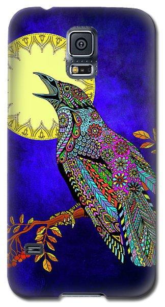 Electric Crow Galaxy S5 Case by Tammy Wetzel