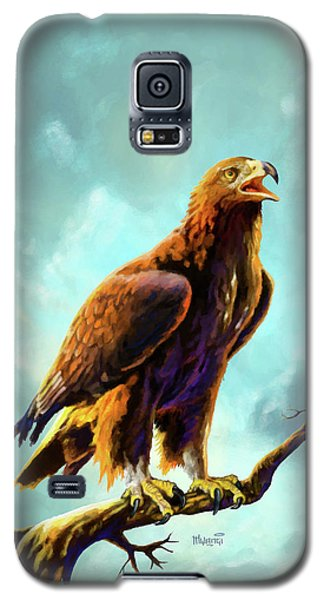 Golden Eagle Galaxy S5 Case by Anthony Mwangi