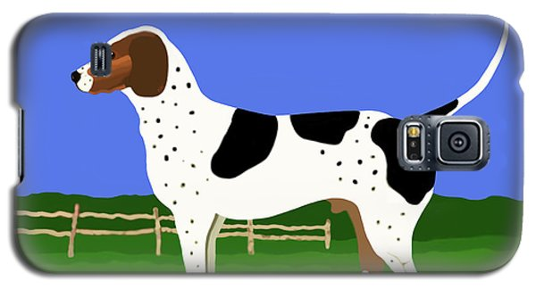 German Shorthaired Pointer In A Field Galaxy S5 Case