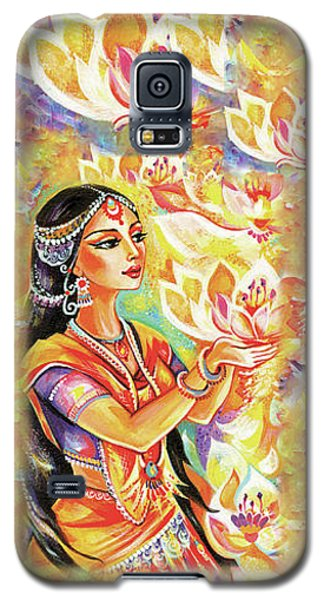 Pray Of The Lotus River Galaxy S5 Case