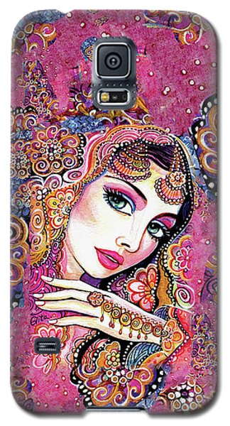 Galaxy S5 Case featuring the painting Kumari by Eva Campbell
