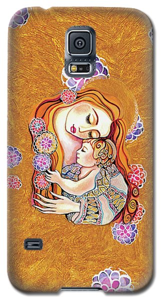 Galaxy S5 Case featuring the painting Little Angel Sleeping by Eva Campbell