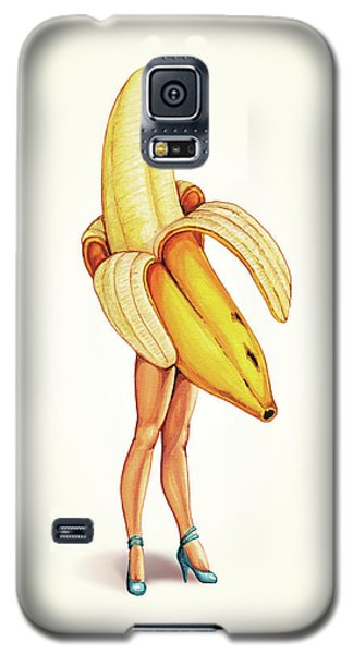 Fruit Stand - Banana Galaxy S5 Case