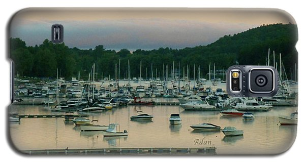Sunrise Over Mallets Bay Variations - Three Galaxy S5 Case by Felipe Adan Lerma