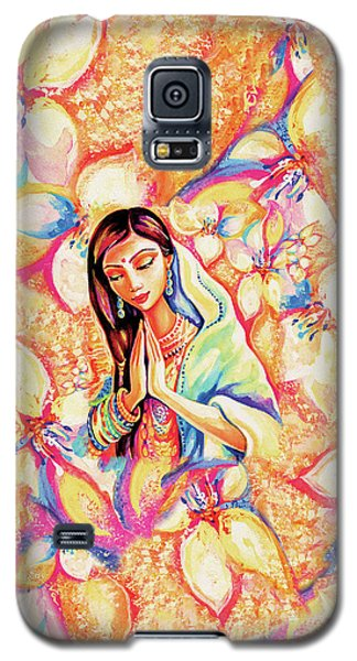 Galaxy S5 Case featuring the painting Little Himalayan Pray by Eva Campbell