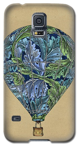 Galaxy S5 Case featuring the painting Flight Pattern by Meg Shearer