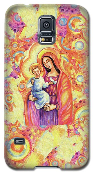 Galaxy S5 Case featuring the painting Blessing Of The Light by Eva Campbell