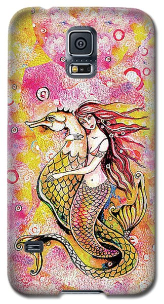Black Sea Mermaid Galaxy S5 Case
