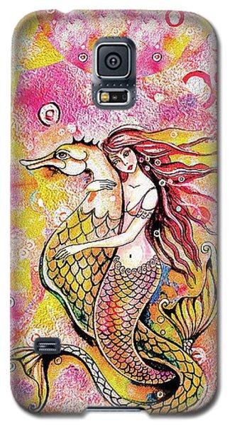 Black Sea Mermaid Galaxy S5 Case