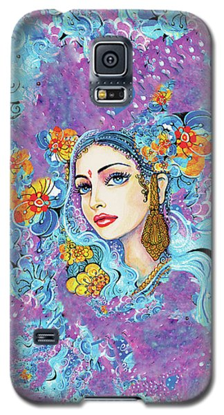 Galaxy S5 Case featuring the painting The Veil Of Aish by Eva Campbell