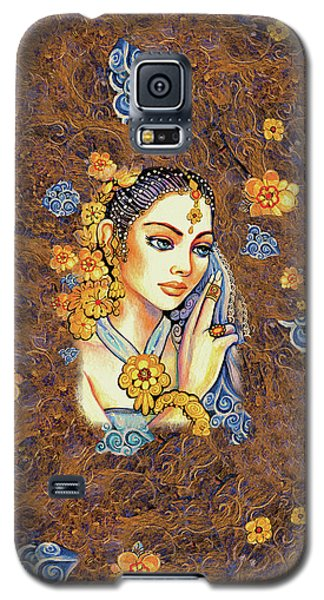 Galaxy S5 Case featuring the painting Amari by Eva Campbell