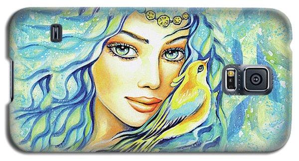 Bird Of Secrets Galaxy S5 Case