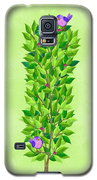 H Is For Hedgehog And Hammock Galaxy S5 Case