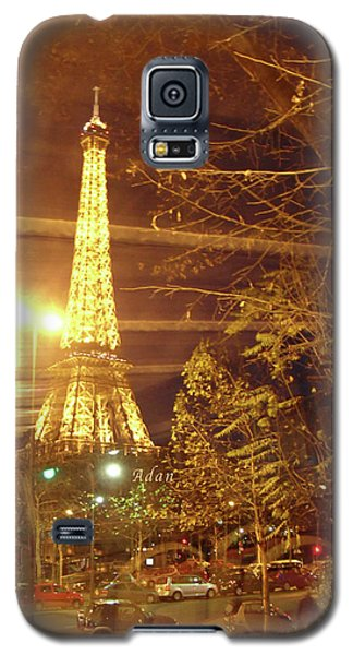 Eiffel Tower By Bus Tour Galaxy S5 Case by Felipe Adan Lerma