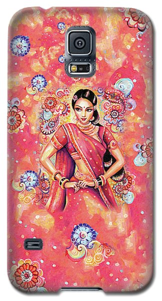 Galaxy S5 Case featuring the painting Devika Dance by Eva Campbell