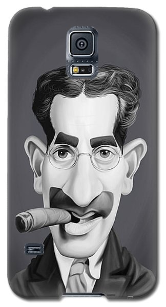 Celebrity Sunday - Groucho Marx Galaxy S5 Case