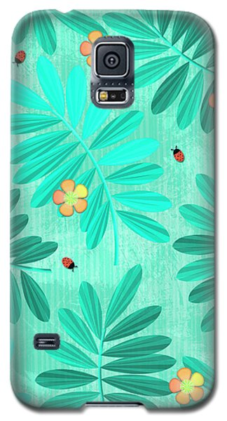 L Is For Lemur And Lark Galaxy S5 Case