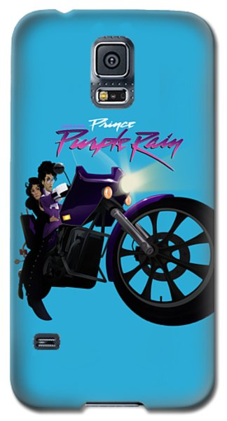 I Grew Up With Purplerain Galaxy S5 Case