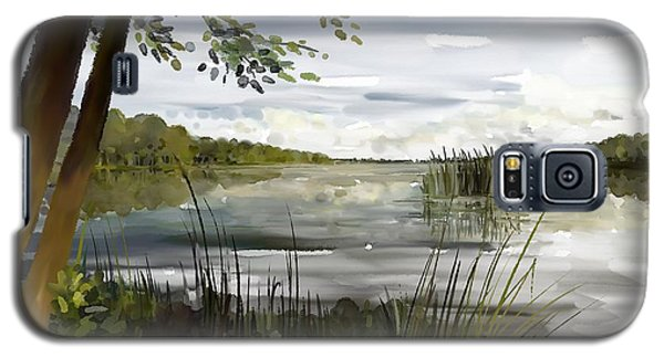 Quiet Day By Lake Galaxy S5 Case