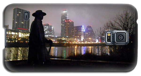 Austin Hike And Bike Trail - Iconic Austin Statue Stevie Ray Vaughn - One Galaxy S5 Case