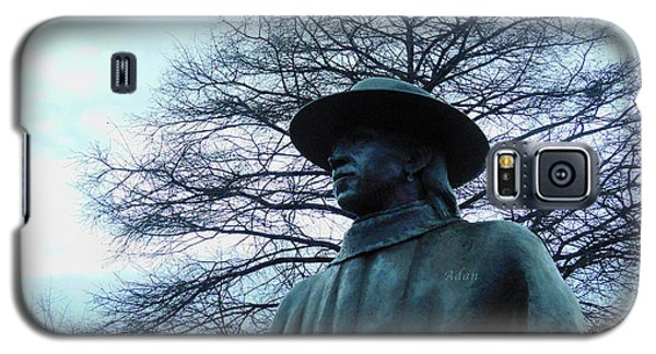 Austin Hike And Bike Trail - Iconic Austin Statue Stevie Ray Vaughn - Two Galaxy S5 Case