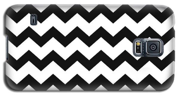Black White Geometric Pattern Galaxy S5 Case
