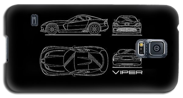 Srt Viper Blueprint Galaxy S5 Case