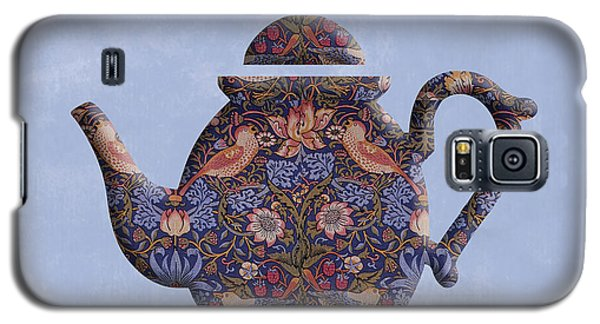 The Strawberry Thief Pattern Teapot Galaxy S5 Case