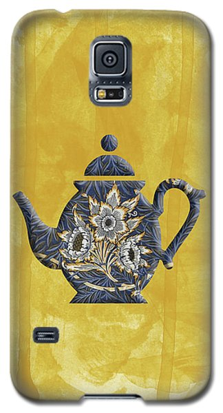 Tulips And Willow Pattern Teapot Galaxy S5 Case