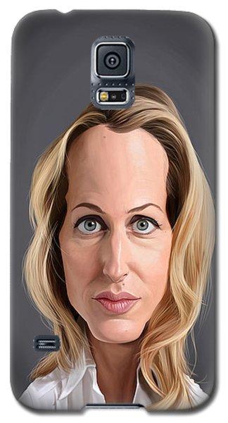 Celebrity Sunday - Gillian Anderson Galaxy S5 Case