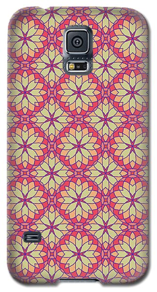 Galaxy S5 Case featuring the digital art Stained Glass by Methune Hively