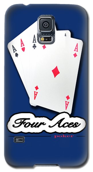 Poker Of Aces - Four Aces Galaxy S5 Case