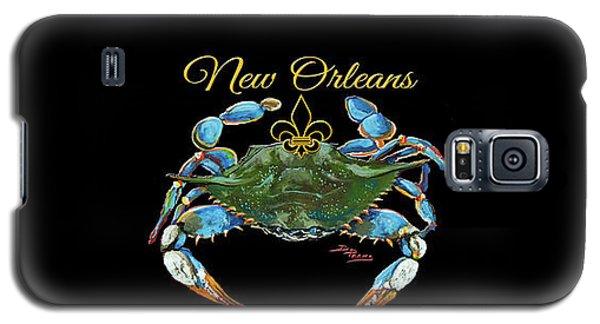 Louisiana Blue On Red Galaxy S5 Case
