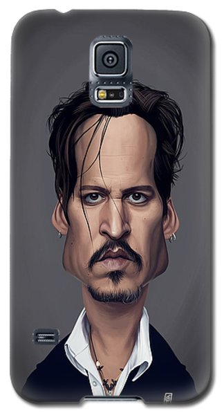 Celebrity Sunday - Johnny Depp Galaxy S5 Case