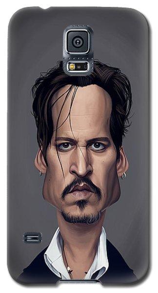 Celebrity Sunday - Johnny Depp Galaxy S5 Case