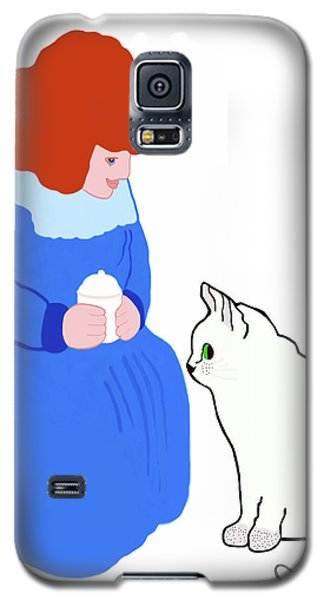 Pussycat, Pussycat By Mother Goose Galaxy S5 Case
