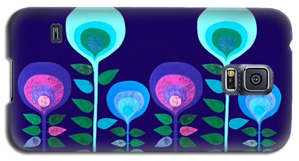 Space Flowers Galaxy S5 Case