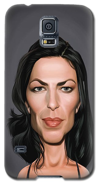 Celebrity Sunday - Claudia Black Galaxy S5 Case