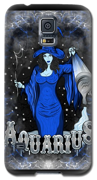 The Water Bearer Aquarius Spirit Galaxy S5 Case