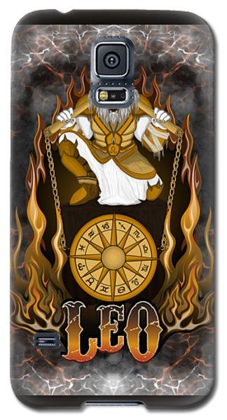 The Lion Leo Spirit Galaxy S5 Case