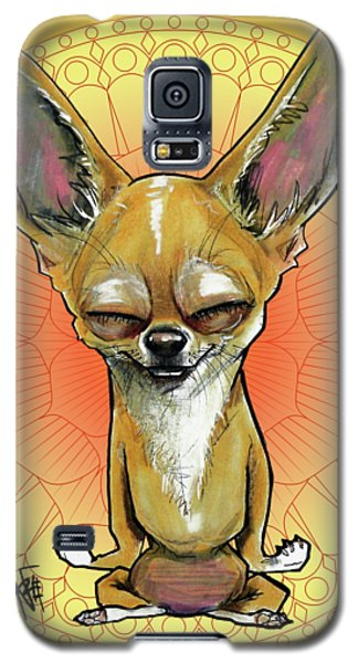 Meditating Chihuahua Galaxy S5 Case