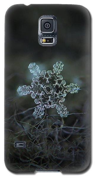 Real Snowflake - Slight Asymmetry New Galaxy S5 Case