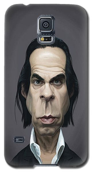 Celebrity Sunday - Nick Cave Galaxy S5 Case