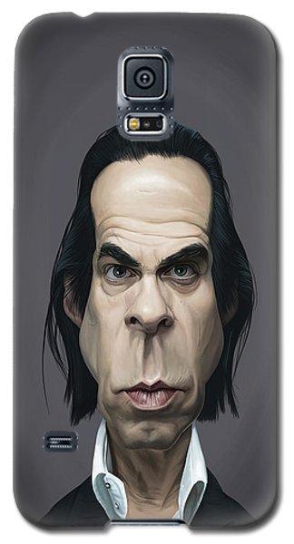 Celebrity Sunday - Nick Cave Galaxy S5 Case